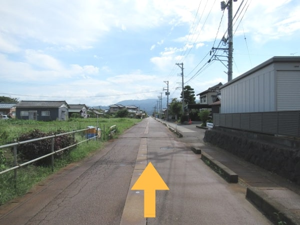 新潟方面からの道順3